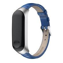 Leather Wrist Band Bracelet Strap Replacement+Metal Case For XIAOMI MI 4 Accessories Part Supplies