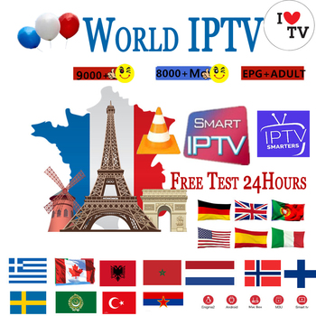 IPTV Europe TV-box Europe IPTV  TV box Wisdom France UK German Arabic Dutch Sweden French Poland Portugal M3U Smart TV box