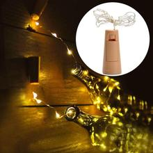1PCS 8 LED Christmas Tree Decoration String Fairy Light Decorations For House  Garland New Year Products
