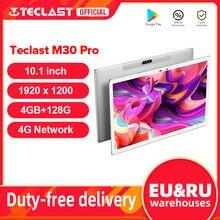 Teclast – Tablette PC de 10.1 pouces M30 Pro, P60, 8 cœurs, 4 go/6 go de RAM, 128 go de ROM, Android 10, IPS, 4G, appel téléphonique, double Wifi, 1920x1200
