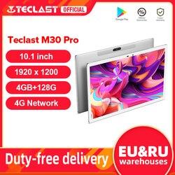 Teclast M30 Pro 10,1 Inch планшет P60 8 ядро, объемом памяти 4 Гб/6 ГБ Оперативная память 128 Гб Встроенная память Android 10 Планшеты ПК 1920x1200 IPS 4G двухъядерный пр...