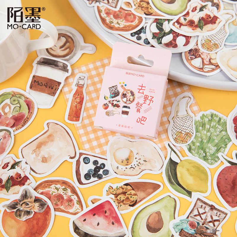 Cake Dessert Bullet Journal Decorative Washi Scrapbooking Stickers Stick 46pcs