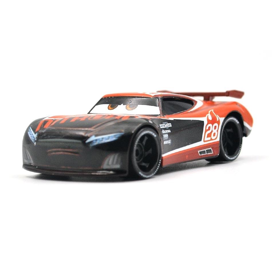 Disney Pixar Cars 3 21 стиль для детей Джексон шторм Высокое качество автомобиль подарок на день рождения сплав автомобиля игрушки модели персонажей из мультфильмов рождественские подарки - Цвет: 35