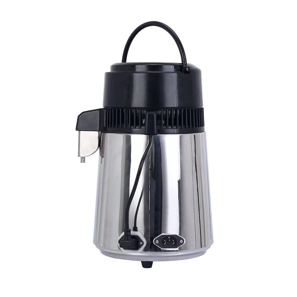 Máquina destiladora de agua pura para el hogar 4L purificador de destilación de agua destilada filtro de vidrio de acero inoxidable-in Irrigadores bucales from Electrodomésticos    2