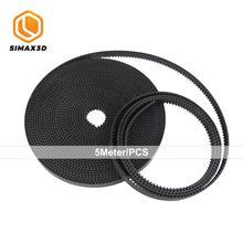 SIMAX3D hotend DIY 3D printer Belt GT2 belt 6mm 5meter 3D printer parts accessories GT2 Timing