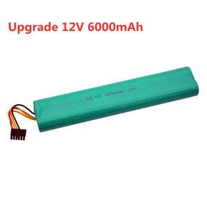 Aktualizacja 4500mah 6000mAh 12V akumulator Ni-MH do Neato Botvac 70E 75 80 85 D75 D8 D85 odkurzacze akumulator