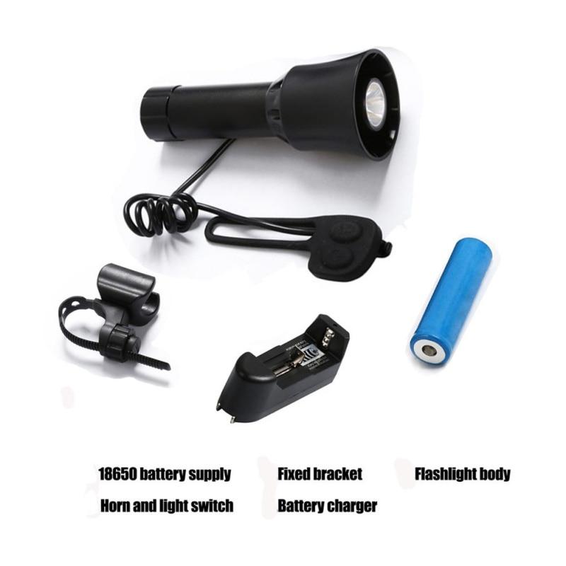 Luces delanteras para bicicleta, luces traseras libres para bicicleta, luces de 4 sonidos para bicicleta, luz de campana electrónica, sirena, bocina, timbre, alarma, altavoz