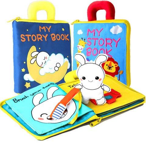 3d pano macio livros do bebe animais veiculo montessori brinquedos para criancas criancas inteligencia desenvolvimento