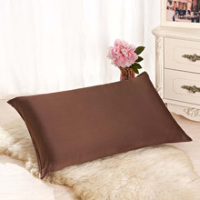 Hair Silk Pillowcase Kids Bedroom-Decoration Luxury New with Hidden Zipper Terse-Color