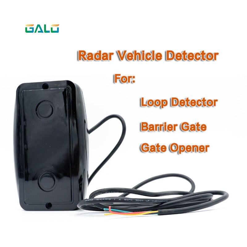 New Product Release IR Radar Vehicle Detector Sensor Replaceable Safety Loop Detectors For Gate Barrier Opener Motor Engine