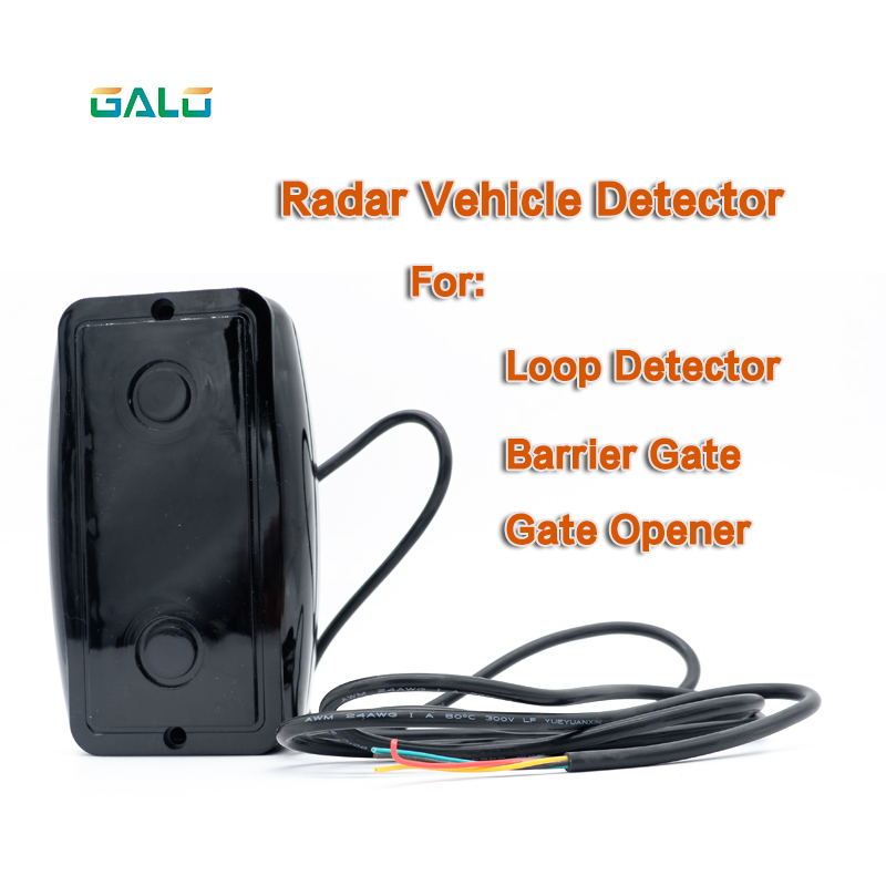 Outdoor Waterproof IR Radar Vehicle Detector Sensor Infrared Radar Replaceable Photocells Sensor For Parking Opener System