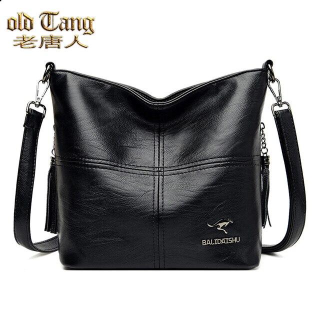Velho tang tendência senhoras sacos de ombro para as mulheres 2020 novas bolsas de luxo grande capacidade couro mulher crossbody saco 1