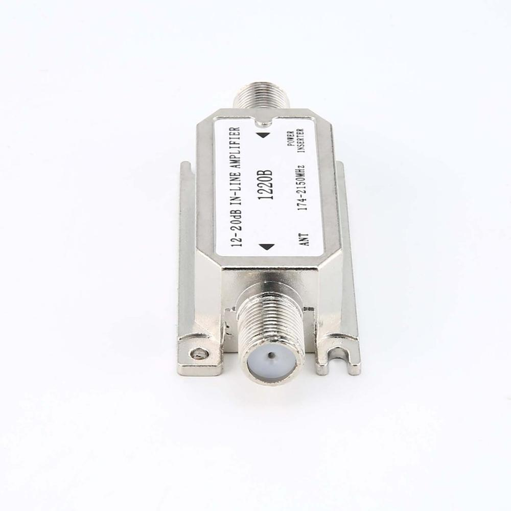 Hot Sale 12-20dB In-line Amplifier(satellite Slope Line Amplifier)(1220B) Amplifier Works With All Satellite