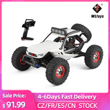 WLtoys XK 12429 1:12 RC Car Crawler 40km/h 4WD 2.4G Electric Car with Head Lights RC Off-Road Car Gift for Kids Adults
