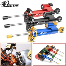 цена на Moto CNC Motorcycle Steering Damper Stabilizer Linear Reversed Safety Control Over For Yamaha YZF-R25 R25 2015-2016 r25 LOGO