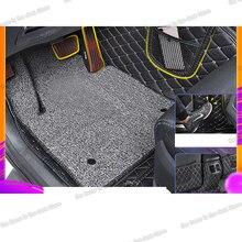 lsrtw2017 fiber leather car trunk mat for bmw 5 series g30 2018 2019 2020 520 528 530 535 540 Lsrtw2017 Fiber Leather PU Car Foot Mat for Hyundai Tucson 2015 2016 2017 2018 2019 2020