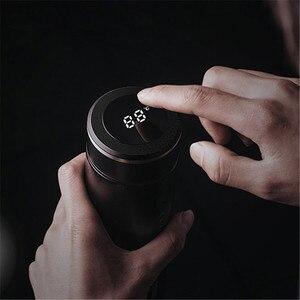 Image 2 - 500ML Edelstahl Thermos Flasche Temperatur Display für Männer Frauen Wasser Flaschen Reise Kaffee Becher Tee Milch Tassen Thermoskanne