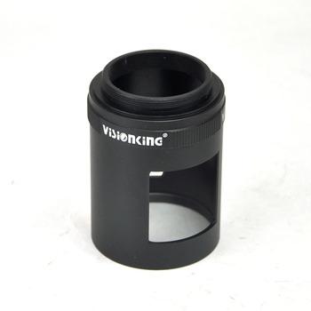 Luneta akcesoria rękaw wysokiej jakości aluminium SLR akcesoria do aparatu rękaw dla Visionking 20-60 #215 60 20-60 #215 80 tanie i dobre opinie Visionking 20-60x60 Visionking 20-60x80 Black Yunnan China (Mainland)