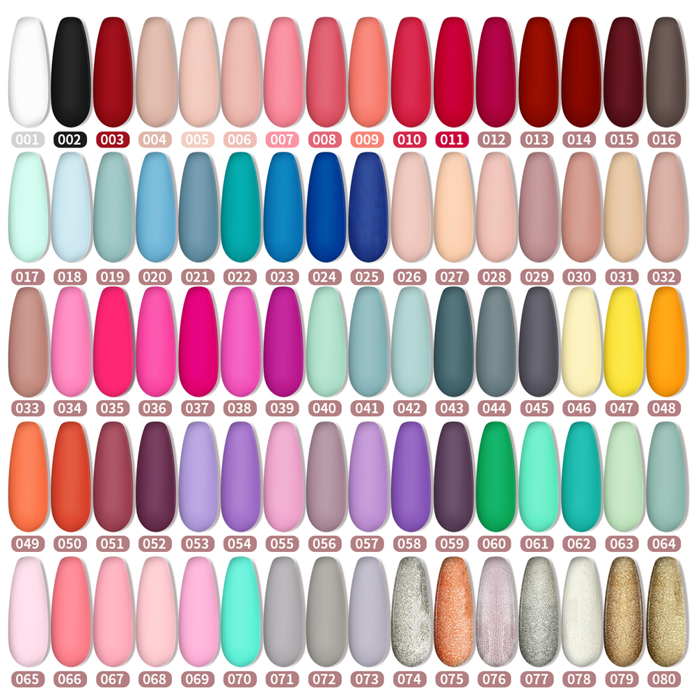 Гель-лак для ногтей, верхнее покрытие яркого цвета, матовый топ матового цвета 5 мл 120 цветов, аналогичный лак