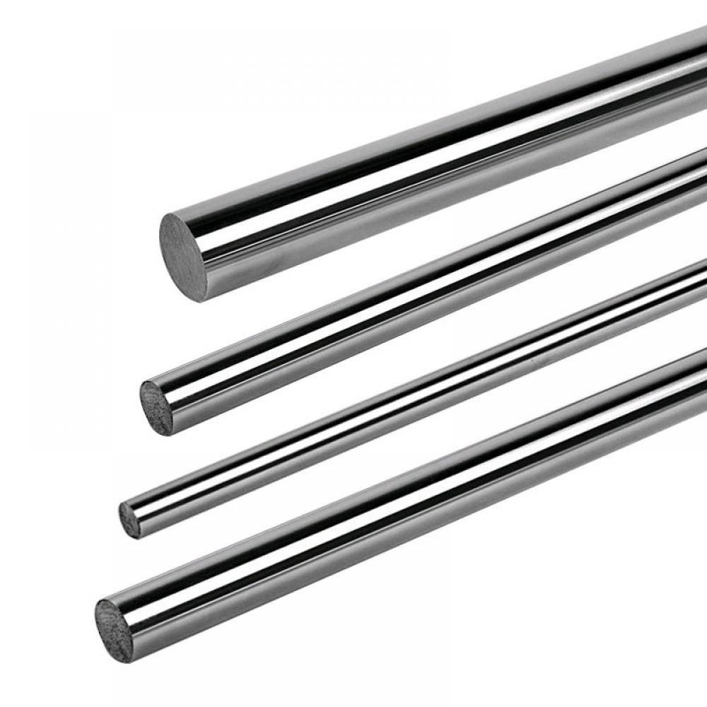 3mm 4mm Silver Steel  Bar Linear Rail Ground Shaft Rod Rounds Bars 330mm Length Diameter 2-20mm 3mm 4mm 5mm 8mm 12mm 16mm
