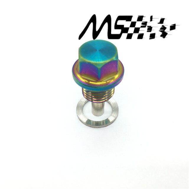 Bouchon de vidange dhuile magnétique en alliage de titane M14 * 1.5