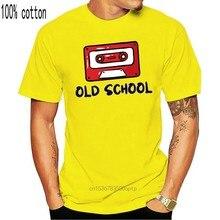 T-shirt à manches courtes pour homme et femme, Cassette de la vieille école