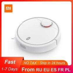 Оригинальный робот-пылесос Xiaomi Mi Mijia для дома автоматический подметание пыли стерилизация умное планирование WIFI приложение дистанционное ...