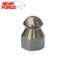 Sewer Drain Cleaning Nozzle Stainless Steel G1/4 for High Pressure Washer