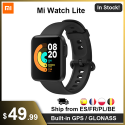 "Xiaomi Mi Watch Lite GPS Mi Smart Watch Band Redmi Watch 1.4"" TFTLCD Screen Bluetooth 5.1 Fitness Heart Rate 5ATM Waterproof"