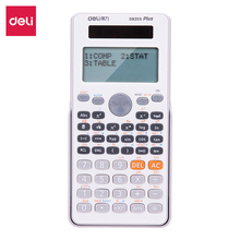 Deli Scientific Calculator for students Display 12 digits function calculator Fast and accurate operation Home office Calculator deli home office voice calculator 12 digit electronic calculatory can display calendar music clock multifunction calculator