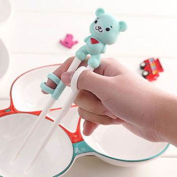 62-6T Baby Children's Cartoon Environmental Protection Polypropylene Learning Training Complementary Food Chopsticks