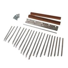 Replacement-Parts-Accessories Kalimba for DIY 20-Keys-Set-Kit Saddle Thumb-Piano-Bridge