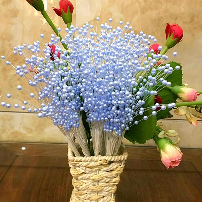 SUEF perle étoile brindilles mariée artificielle fleurs séchées bouquet de mariage bouquet décoration bricolage arrangements floraux accessoires @ 2