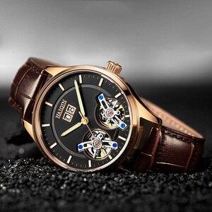 Image 4 - HAIQIN męskie zegarki męskie zegarki top marka luksusowy automatyczny mechaniczny zegarek sportowy mężczyźni wirstwatch Tourbillon Reloj hombres 2020