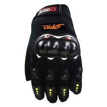 Ekran dotykowy rękawice motocyklowe mężczyzna kobiet pełne rękawiczki dla KTM DUKE 790 1290 Super adventure 690 390 990 250 125 akcesoria tanie tanio NUSIAMA CN (pochodzenie) RĘKAWICE Z palcami Nylon i bawełna Unisex
