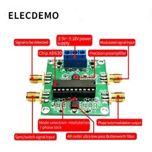 Image 2 - AD630 Lock in Amplifier LIA Balanced modulator Module Phase Sensitive Detection