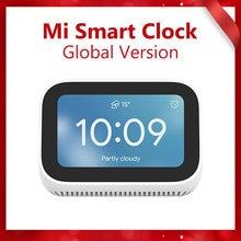 Global Version Xiaomi Mi Smart Clock AI Touch Screen Speaker Bluetooth 5.0 Digital Display Alarm Clock WiFi Connection Speaker