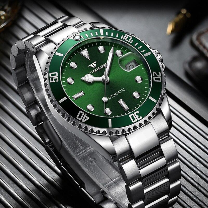 FNGEEN Series Skeleton Mechanical Automatic Watch Men Tourbillon Sport Clock Casual Business Wrist Mechanical Watch Montre Homme