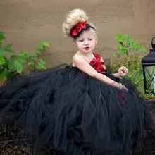 Christmas Dress for Girls Mesh Splice Fashion Kids Dresses Tutu Princess Applique Girl Party