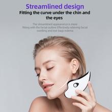 цена на Electric Facial Scraper Dredge Meridian Soothing Fatigue Detoxification Wrinkle Scraper Massager Soothing Pressure USB Charging