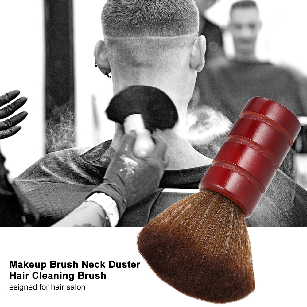 Soft Neck Hair Brush Barber Styling Makeup Tool Neck Face Duster Brushes Hairbrush Cutting Clean Grooming Shaving Sweeping Brush