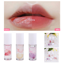Shiny Crystal Lip Gloss Lips Nutritious Dried Flowers Clear Lip Oil Natural Long Lasting Lip Essence Care Product Lip Makeup