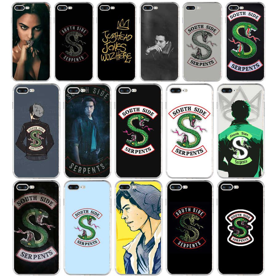 178FG tv riverdale SouthSide Serpent s  Soft TPU Silicone Cover Case For Apple iPhone5 5s se 6 6s 7 8 plus x xr xs max