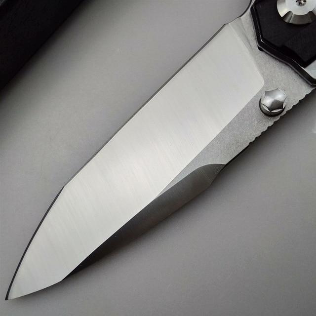KESIWO folding blade knife D2 tactical camping survival pocket knives hunting flipper G10 handle hiking kitchen outdoor EDC tool 5