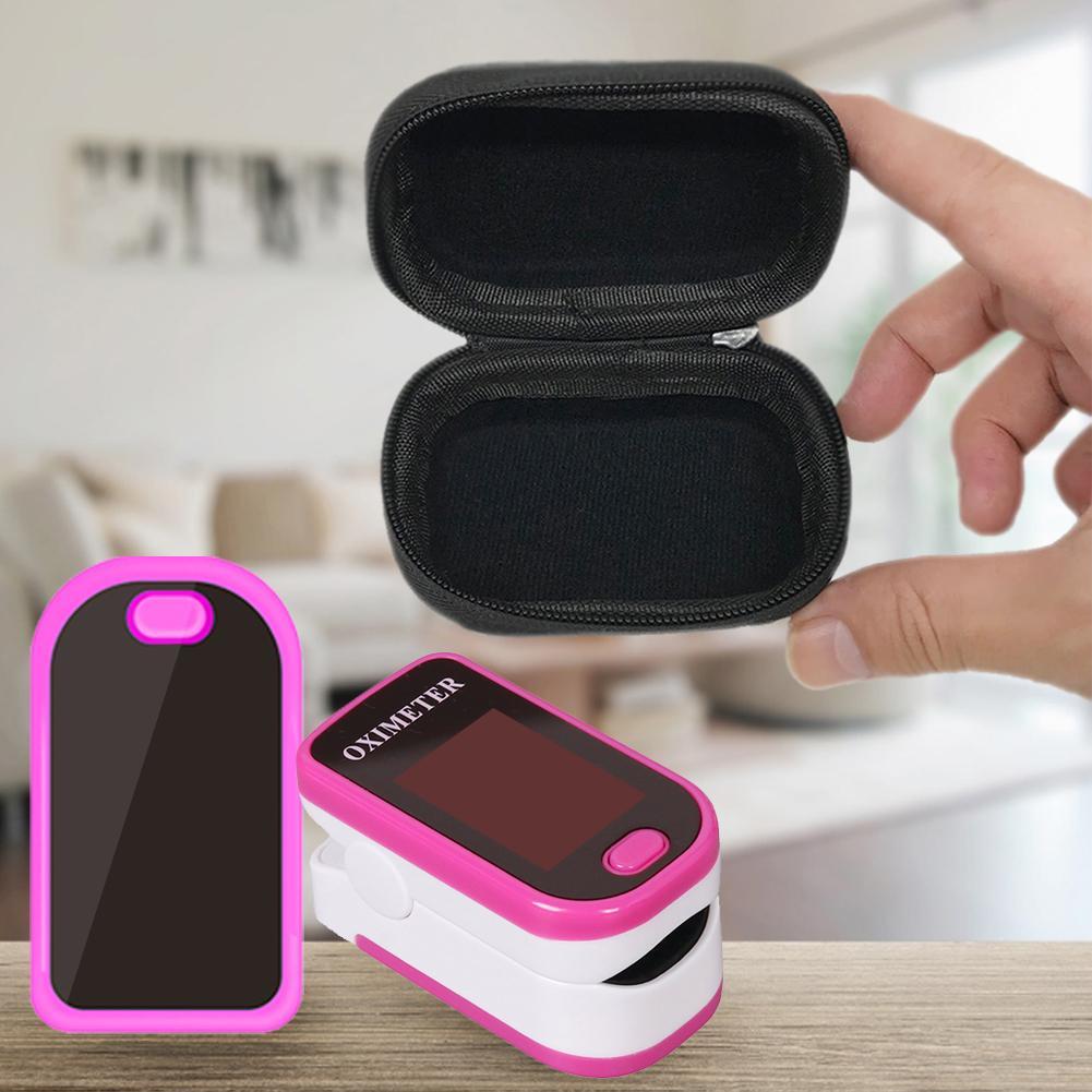 Finger Clip Oximeter Suitable For Braun / Philips Oximeter Storage Bag Finger Clip Type Oxygen Saturation Detector Box