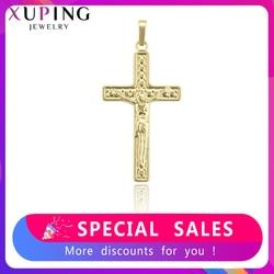 Xuping modny wisiorek biżuteria religijny jezus Seris krzyż Charms style naszyjnik wisiorek na imprezę prezent 33811