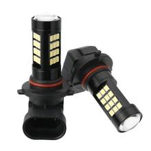 цена на For Car Lighting 2pcs 9006 HB4 2835 42SMD LED Fog Lamp Canbus Free Auto Driving Running Light Bulb 6500K White 840LM 12V Mayitr