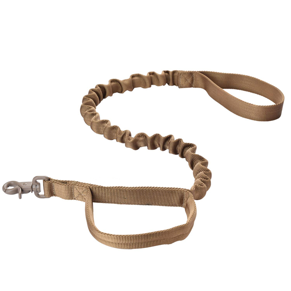 Dog leather Leash Reflective Adjustable Rope Pet Accessories Products Running Belt Hands Free Mountain