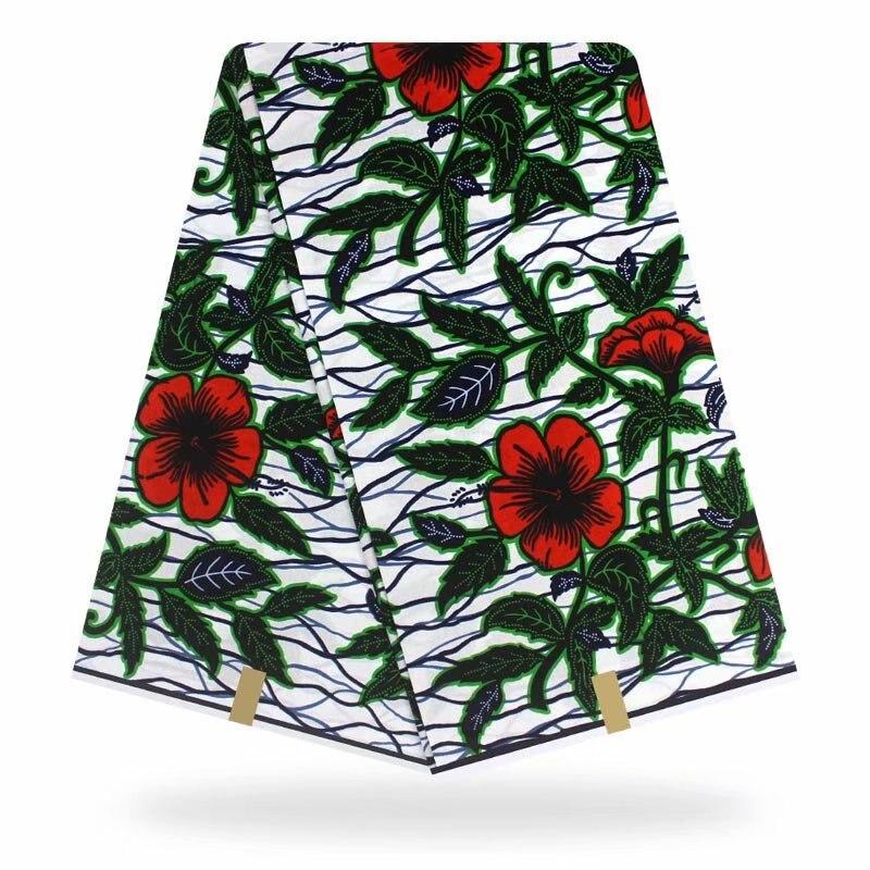 African Ankara Fabric High Quality Veritable Wax Print Fabric Printing 100% Cotton African Veritable Real Dutch Wax For Dress