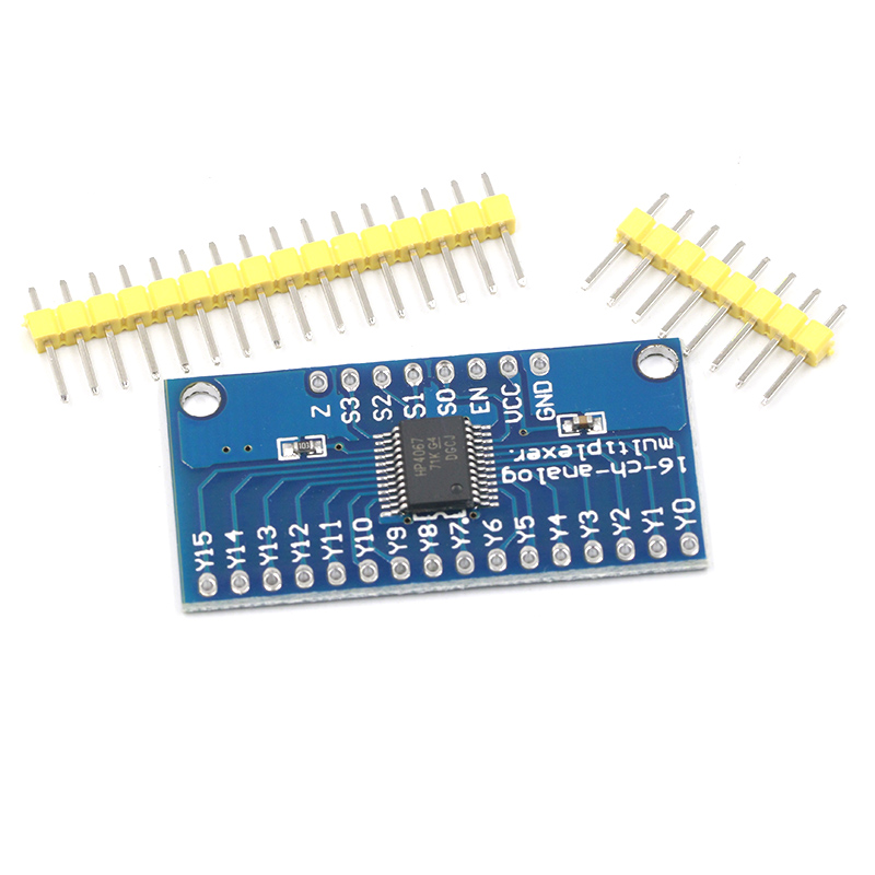 CD74HC4067 74HC4067 16-Channel Analog Digital Multiplexer Breakout Board Module